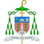 Escudo del Obispo de Jaén, D. Amadeo Rodríguez Magro
